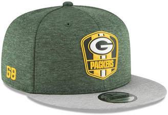 New Era Boys' Green Bay Packers Sideline Road 9FIFTY Cap
