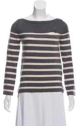 Sacai Luck Wool Striped Sweater