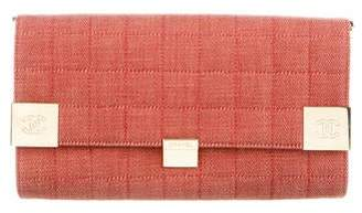 Chanel Square Quilted Clutch