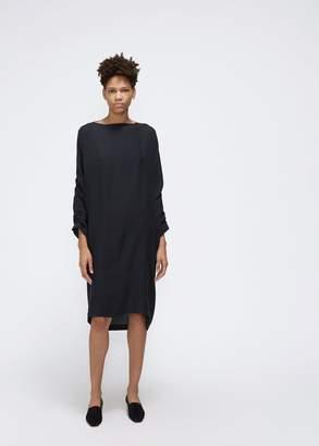 Black Crane Elastic Detail Dress