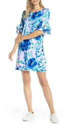 Lilly Pulitzer Lula Ruffle Sleeve Shift Dress