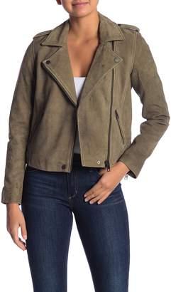 Lucky Brand Helen Moto Leather Jacket