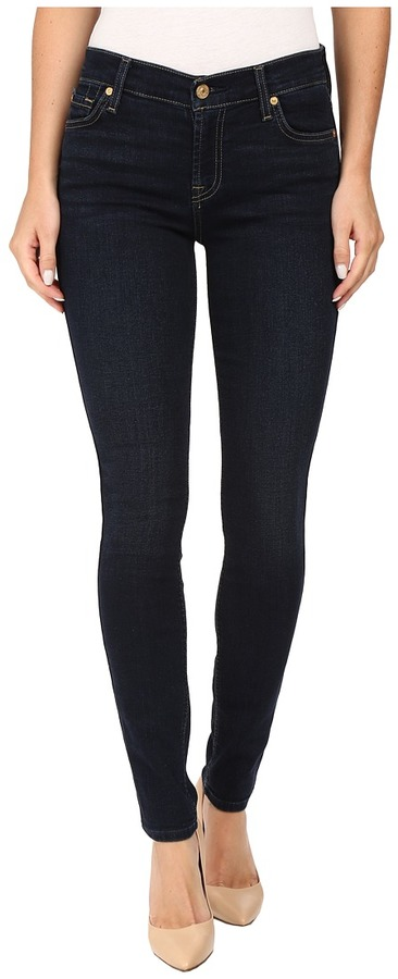 7 For All Mankind 7 For All Mankind Skinny w/ Squiggle in Dark Dusk Indigo