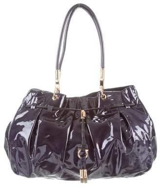 c143e6d2de Salvatore Ferragamo Patent Leather Handbags - ShopStyle