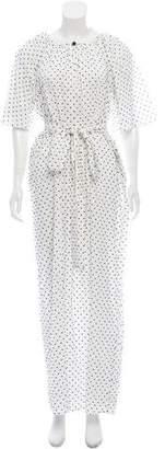 Marysia Swim Polka Dot Embroidered Dress