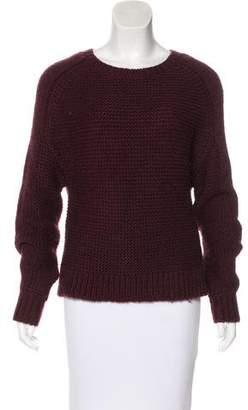 Tibi Crew Neck Knit Sweater