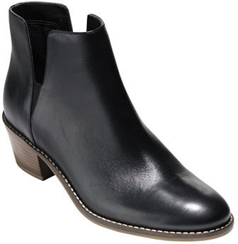 Cole Haan  Cole Haan Abbot Leather Booties