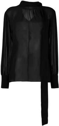 Federica Tosi transparent blouse