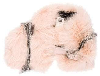 Fendi Fox Fur Stole w/ Tags