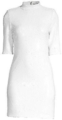 Alice + Olivia Women's Inka Sequin Cocktail Dress - Size 0