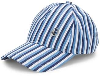 Karl Lagerfeld Paris Stripe Baseball Cap