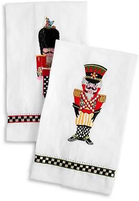 Mackenzie Childs MacKenzie-Childs Palace Guards Two-Piece Guest Towel Set