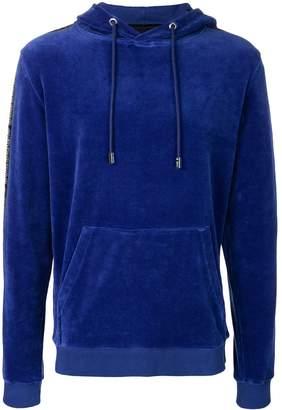 Blood Brother velvet hoodie