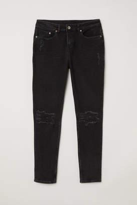 H&M Girlfriend Jeans - Black