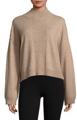 ATM Anthony Thomas Melillo Ribbed Mockneck Sweater