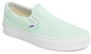 Women's Vans Classic Slip-On Sneaker $49.95 thestylecure.com