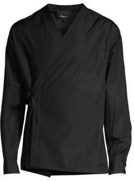 3.1 Phillip Lim Kimono-Style Cotton Shirt