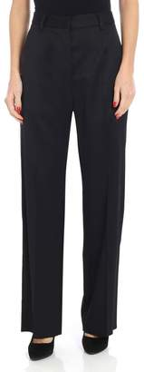 MM6 MAISON MARGIELA Flared High Waisted Trousers