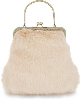 Shrimps Arthur faux-fur handbag