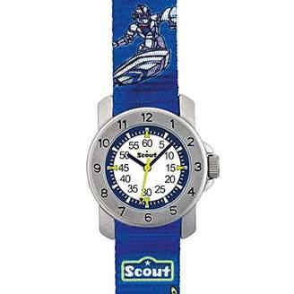 Scout Boys' Analogue Quartz Watch with Textile Strap 280376003