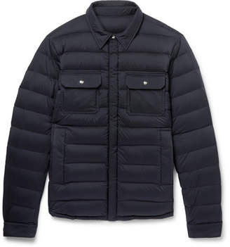Moncler Caph Slim-Fit Quilted Shell Down Jacket
