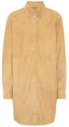 Etoile Isabel Marant Isabel Marant, Étoile Senna suede shirt dress