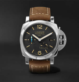 Panerai Officine Luminor 1950 3 Days Acciaio 42mm Stainless Steel and Leather Watch