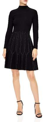 Sandro Opinion Studded Dress
