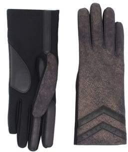Isotoner Metallic Tech Gloves