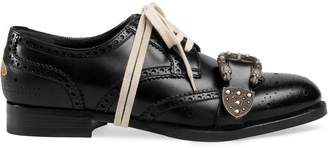 Gucci Queercore brogue shoes