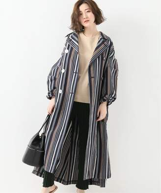 Journal Standard (ジャーナル スタンダード) - JOURNAL STANDARD L'ESSAGE 【Uhr/ウーア】Stripe Trench Coat:コート