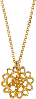 Alex Woo Zahrah Small Crescent Pendant Necklace