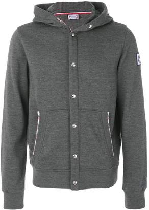 Moncler button up hoodie