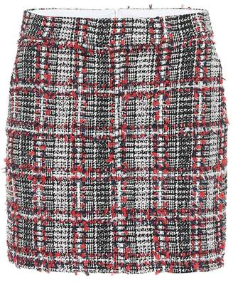 Thom Browne Tweed wool-blend miniskirt