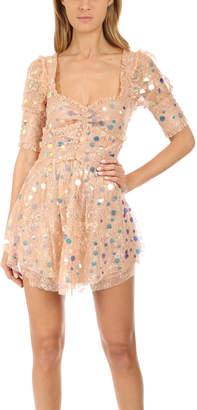 For Love & Lemons Ace Mini Dress