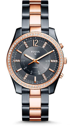 Fossil REFURBISHED Hybrid Smartwatch - Q Scarlette Two-Tone Stainless Steel