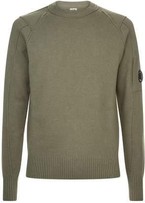 C.P. Company Lens Badge Sweater