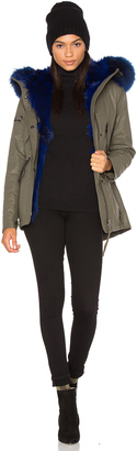 SAM. Luxe Mini Limelight 4-in-1 Parka with Fur $1,695 thestylecure.com