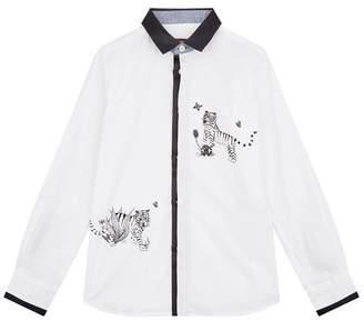 Roberto Cavalli Tiger Printed Shirt