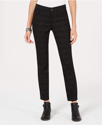 Style&Co. Style & Co Printed Tummy-Control Skinny Jeans, Created for Macy's