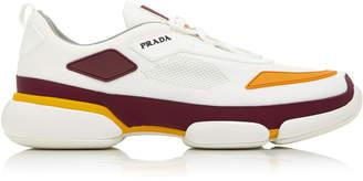 Prada Cloudbust Rubber-Paneled Mesh Sneakers
