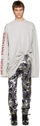 Vetements Grey Sexual Fantasies T-Shirt