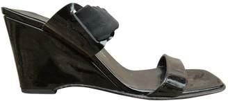 Salvatore Ferragamo Black Patent leather Sandals