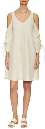 Marabelle Women's Cold Shoulder Shift Dress