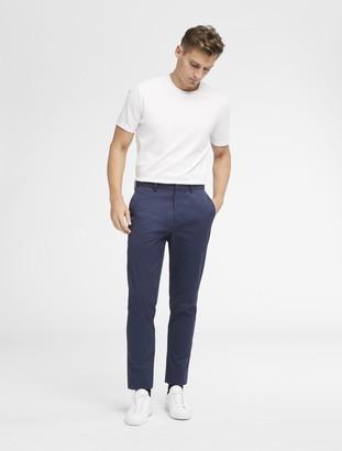 DKNY Sateen Flat Front Pant