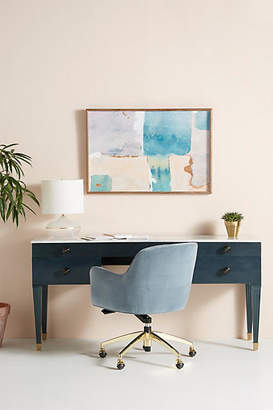 Tracey Boyd Marble-Topped Desk