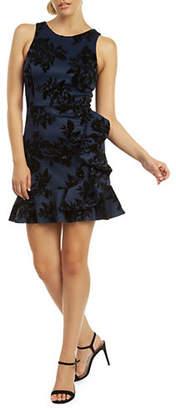 Dex Floral Fit--Flare Dress