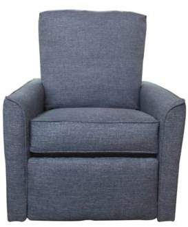 The 1st Chair Keeton Recliner in Iris Indigo