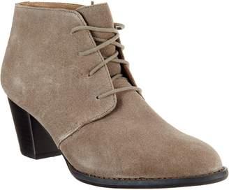 Vionic Suede Lace-up Boots - Zenda