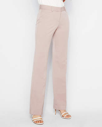 Express Mid Rise Wide Leg Editor Pant